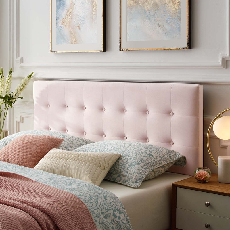 Modway Emily King Biscuit Tufted Performance Velvet Headboard