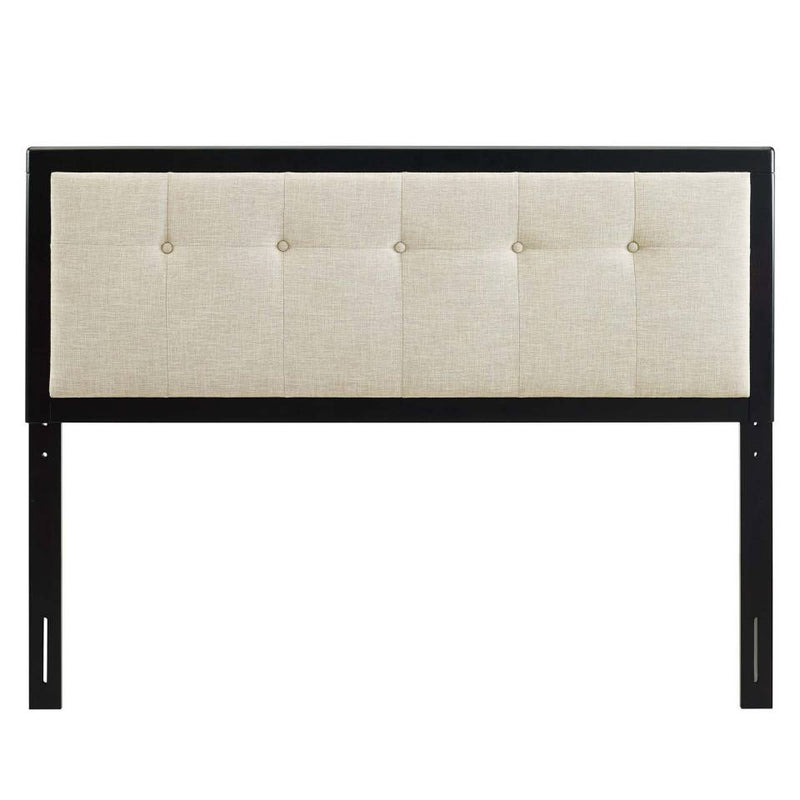 Modway Draper Tufted Full Fabric and Wood Headboard