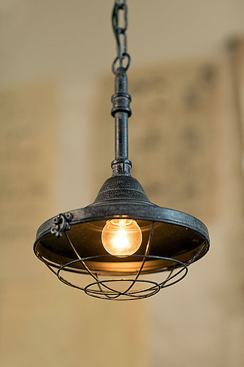 Oohlong Small Iron Factory Pendant Lamp