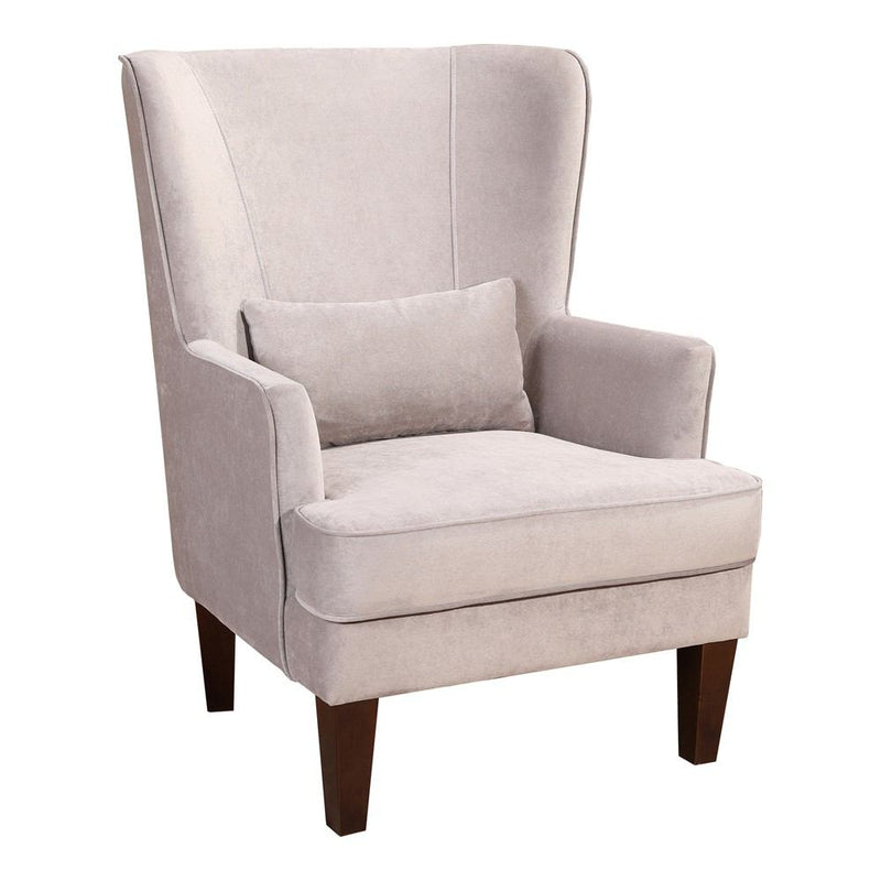 Moe's Home Collection Prince Arm Chair Velvet