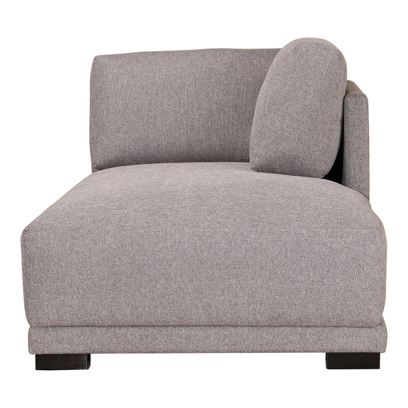 Moe's Home Collection Romeo Chaise Right Grey