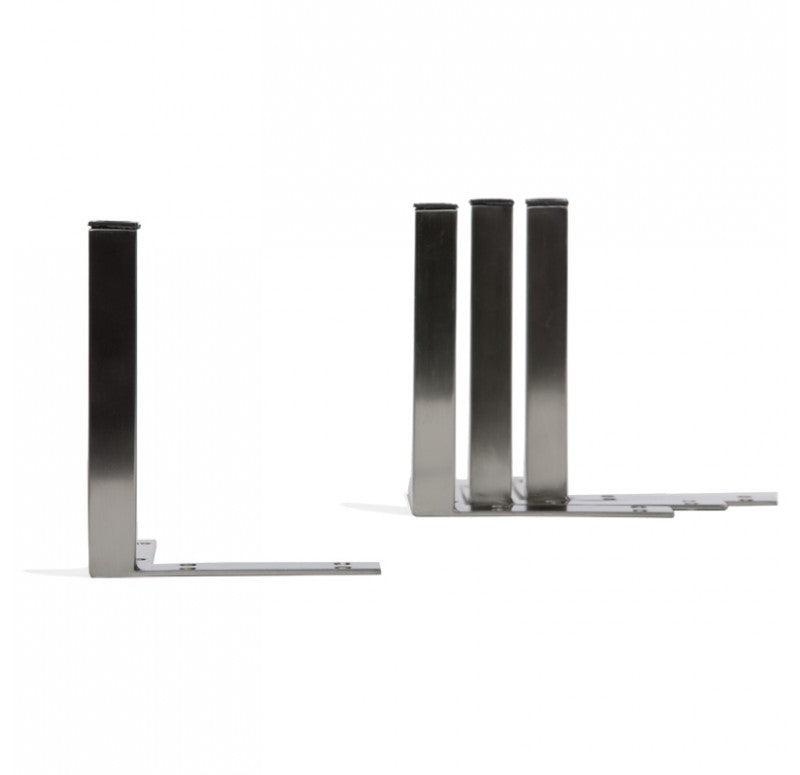 Planter Legs, Stainless Steel, Brushed Finish Set of 8