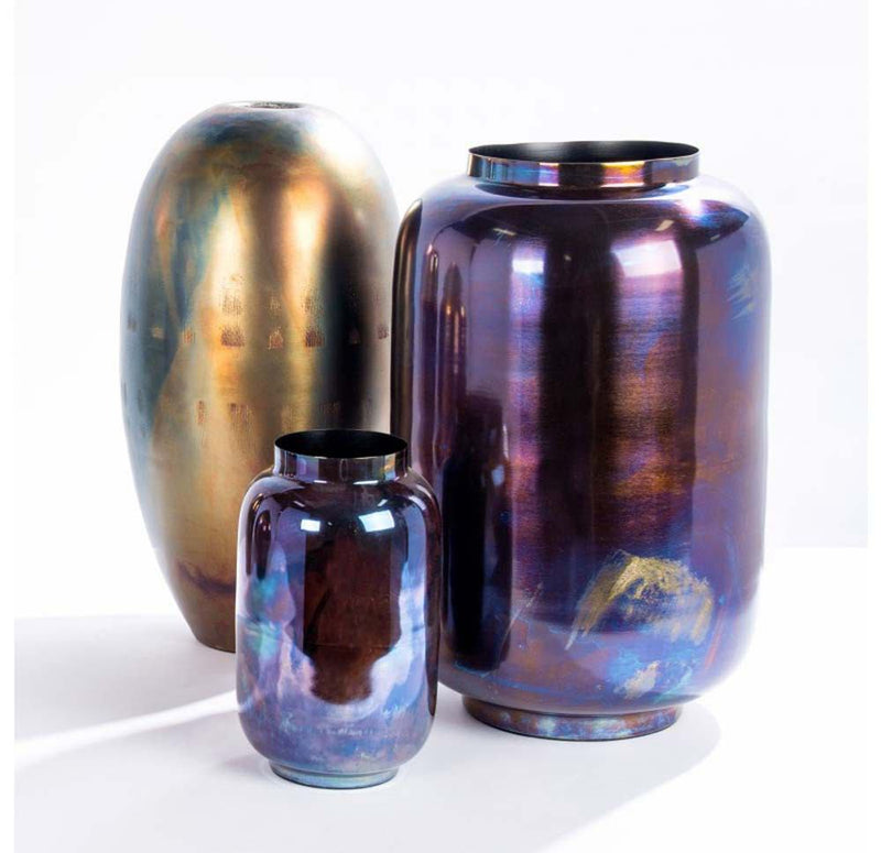 Gold Leaf Design Group Oleum Vase