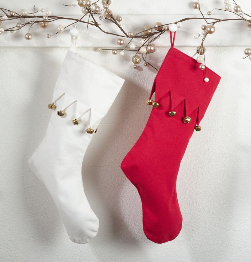 Saro Jingle Design Stockings - Set Of 3
