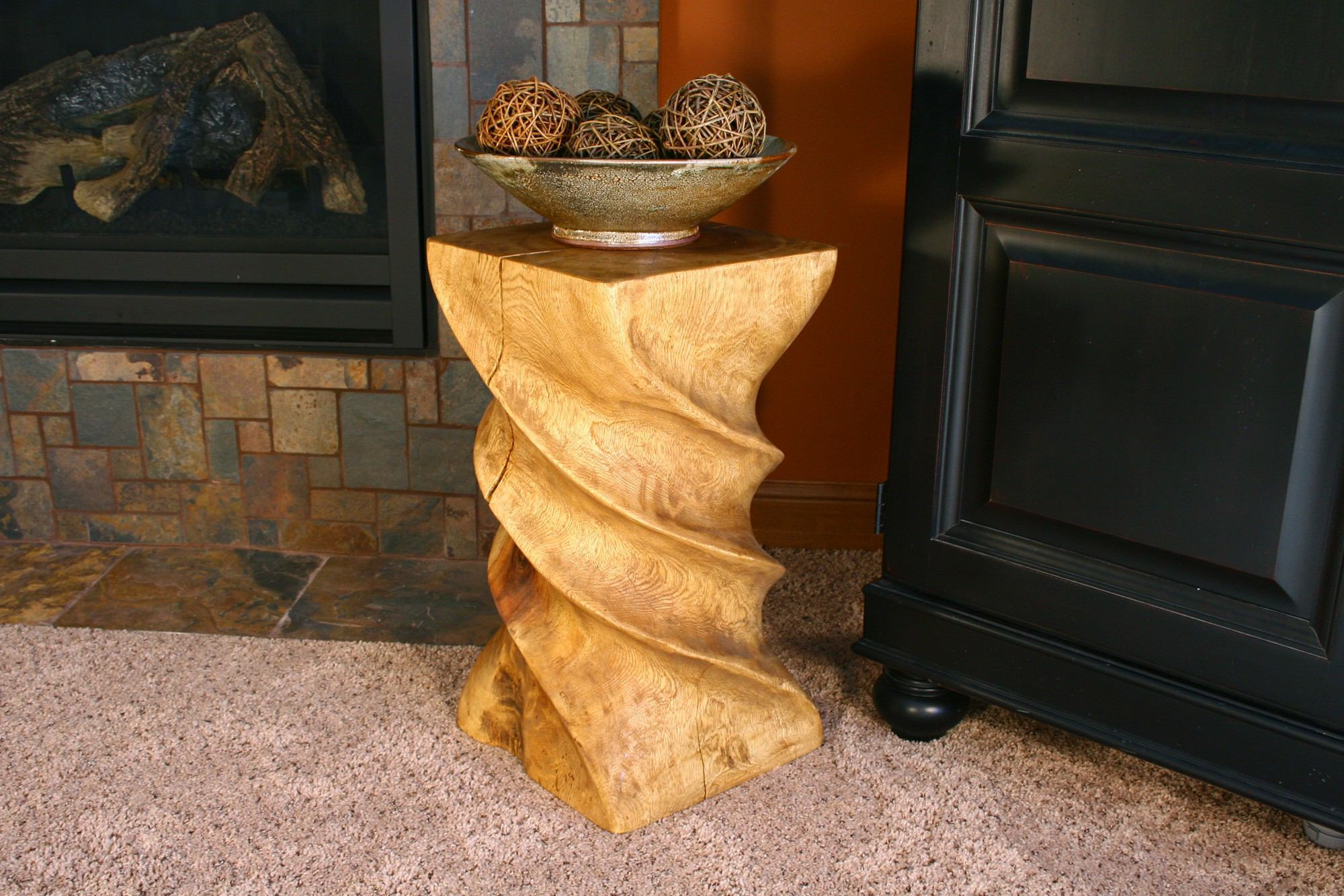 Strata Furniture Triple Twist End Table