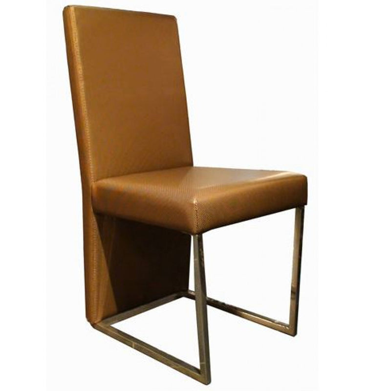 Vig Furniture A&X 0099 Modern Gold Leatherette Dining Chair