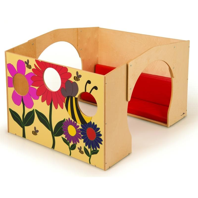 Whitney Brothers® Flowered Reading Haven With Cushion