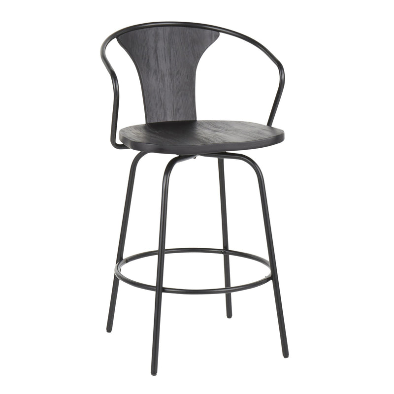 LumiSource Waco Industrial Counter Stool