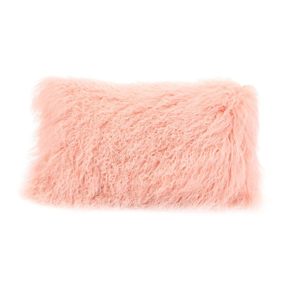 Moe's Home Collection Lamb Fur Pillow - Rectangle