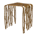 Gold Leaf Design Group Twig Benches