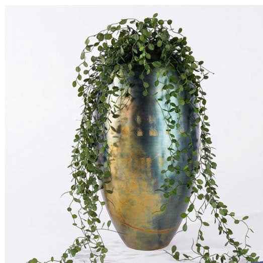 Angel Vine in Tuscan Vase by Gold Leaf Design Group
