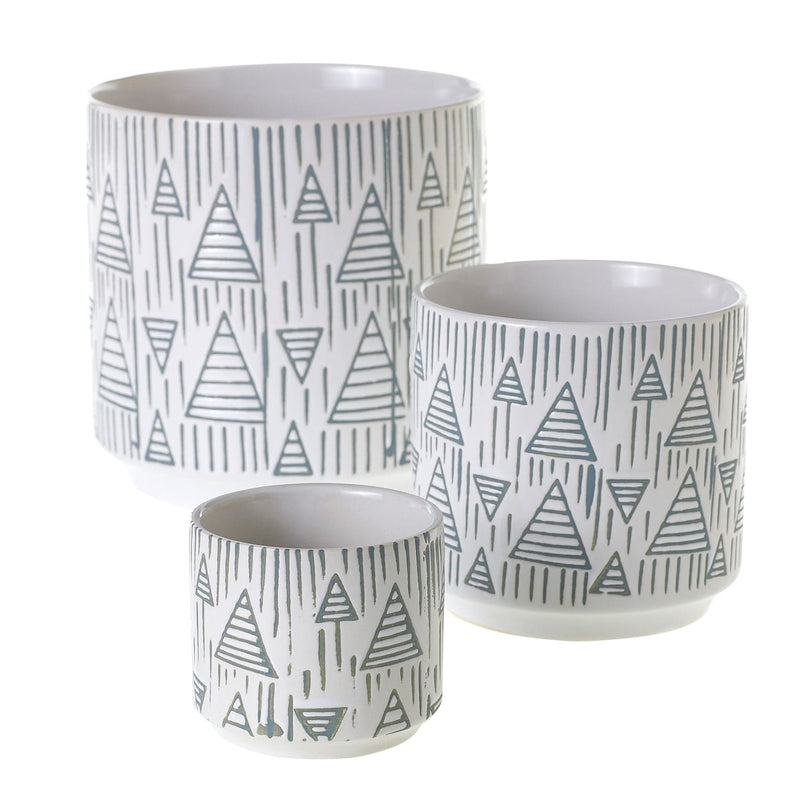 Arrow Tree Pot Set of 30 By Accent Decor