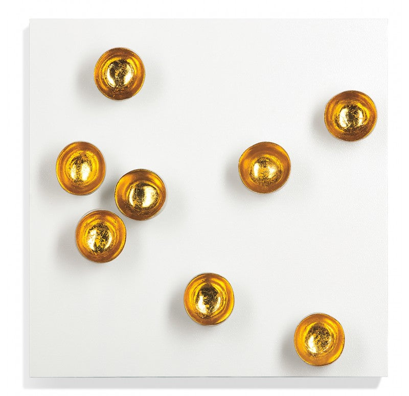 Wall Play Substrate, 'Gold Seed' by Gold Leaf Design Group