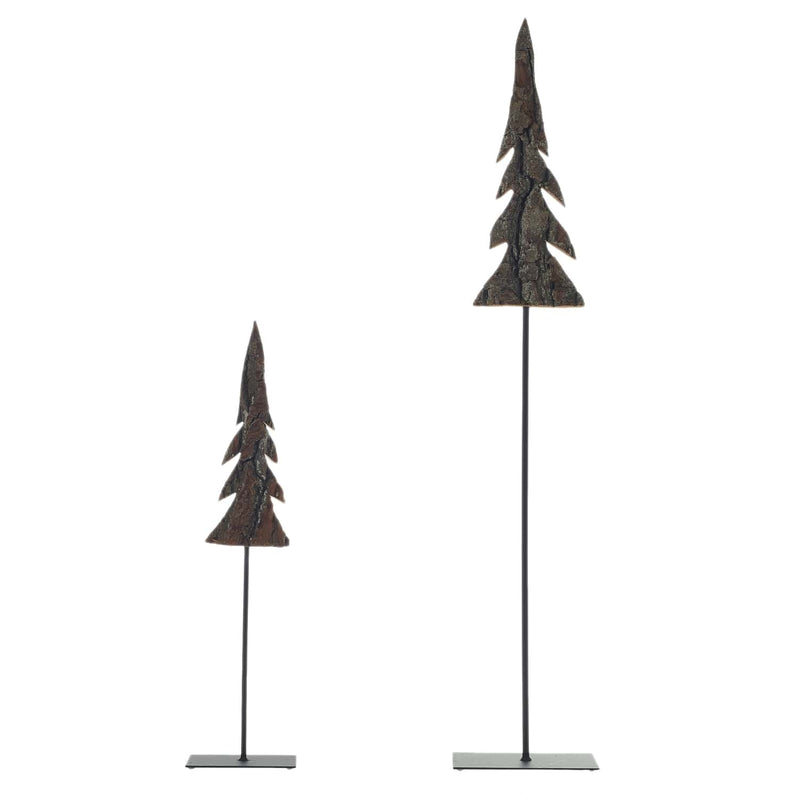 Barklin Tree Set of 2 by Accent Decor