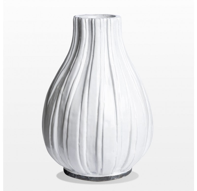 "Poppy Vase, 14.25""H by by Gold Leaf Design Group"