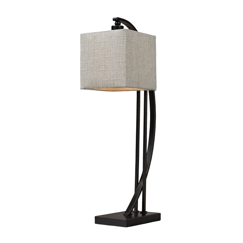Dimond Lighting Arched Metal Table Lamp In Madison Bronze Table Lamps, Dimond Lighting, - Modish Store