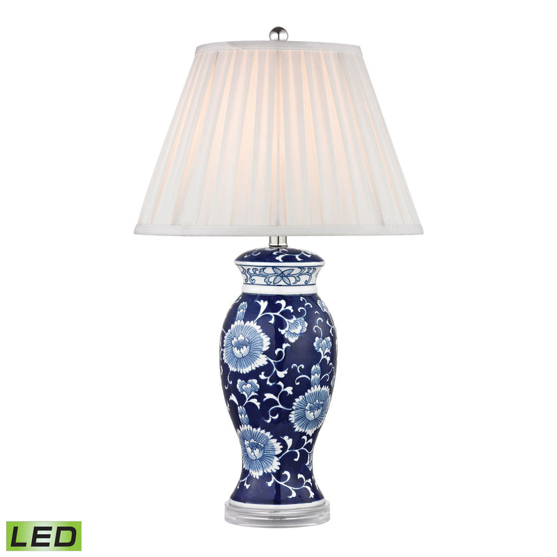Dimond Lighting Hand Painted Ceramic Table Lamp Table Lamps, Dimond Lighting, - Modish Store