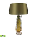 Dimond Lighting Modena Free Blown Glass Table Lamp - Green Table Lamps, Dimond Lighting, - Modish Store
