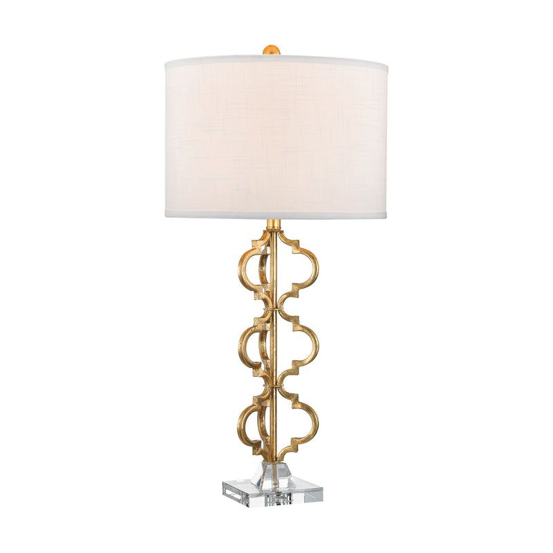 Dimond Lighting Castile 1 Light Table Lamp In Gold Leaf Table Lamps, Dimond Lighting, - Modish Store