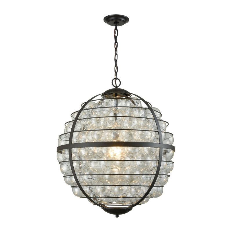 Dimond Lighting Skorpius Chandelier Chandeliers, Dimond Lighting, - Modish Store