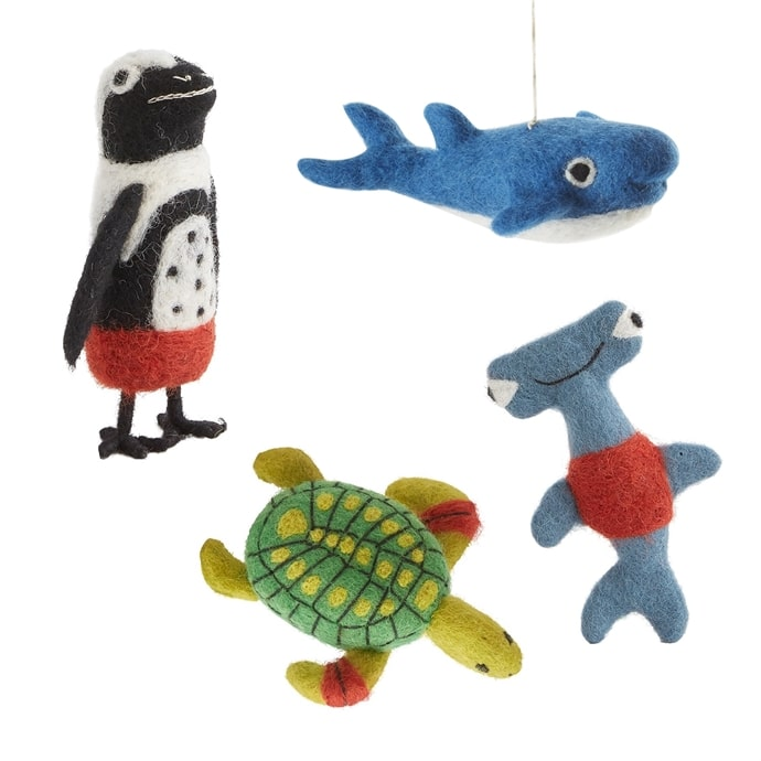Endangered Sea Creatures Set of 10  by Accent Decor