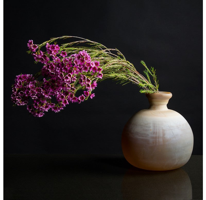 Onyx Vase by Gold Leaf Design Group