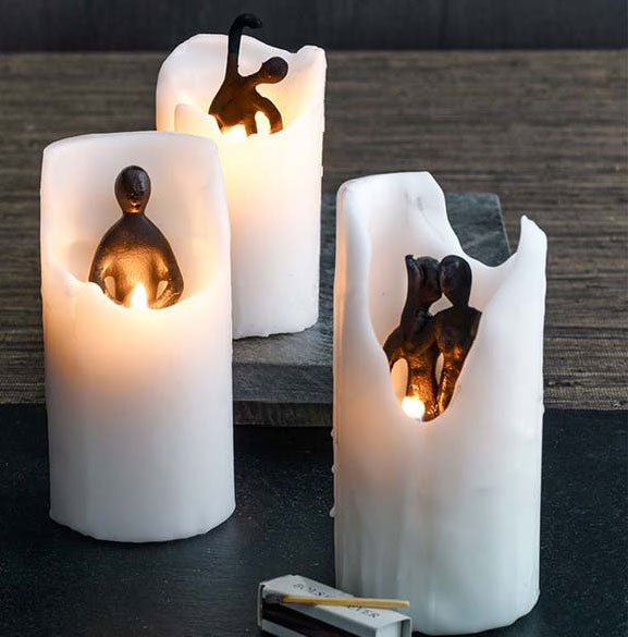 Spirit Candle Set of 6 By Texture Designideas