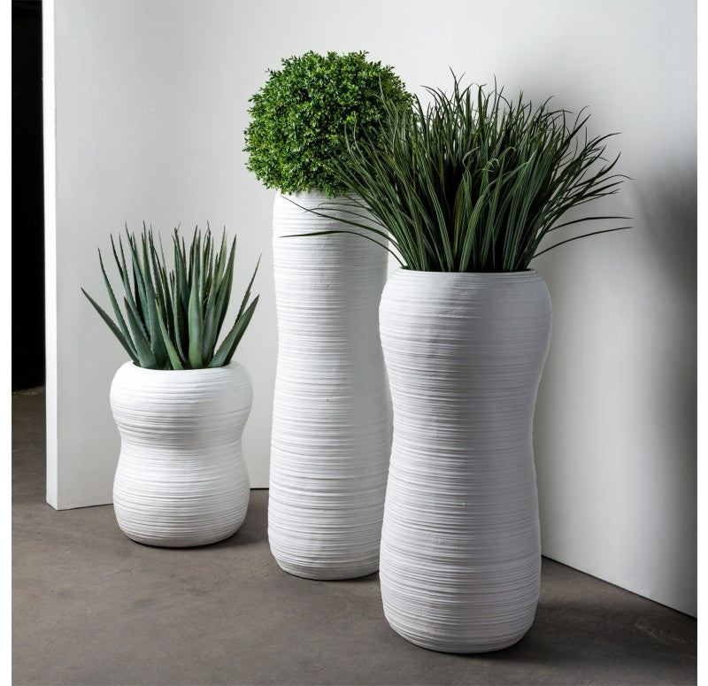 Grass: Liriope in Naoshima Planter by Gold Leaf Design Group