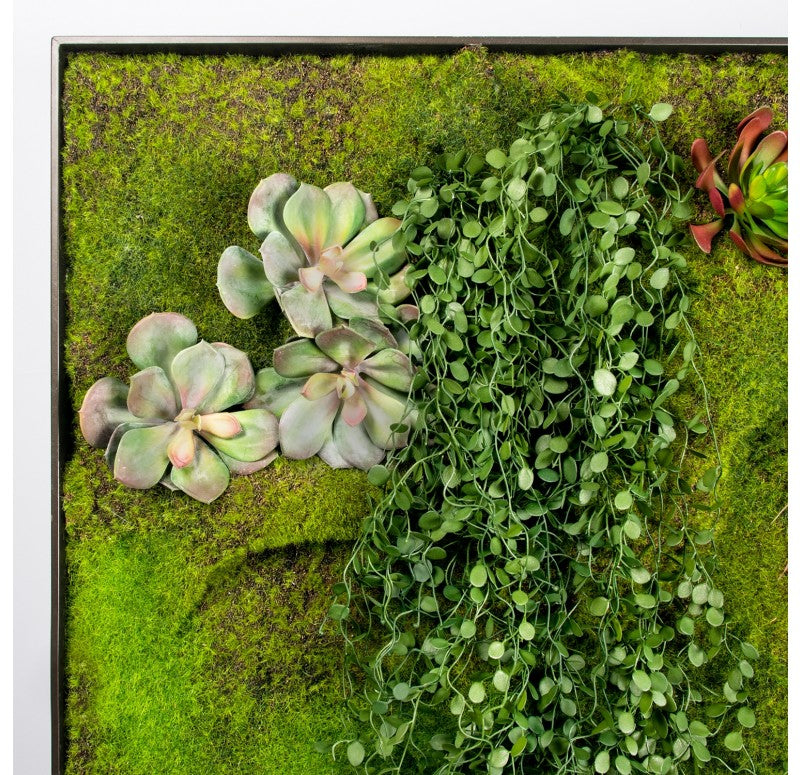 Green Wall, 'Grouping 1' by Gold Leaf Design Group