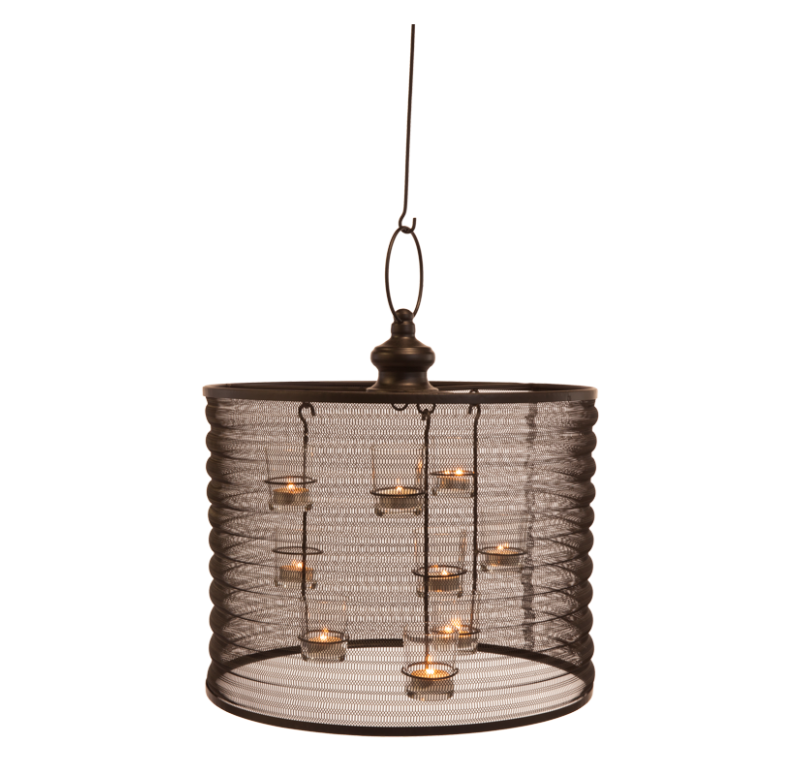 "Aria Candle Chandelier 16"" by Gold Leaf Design Group"