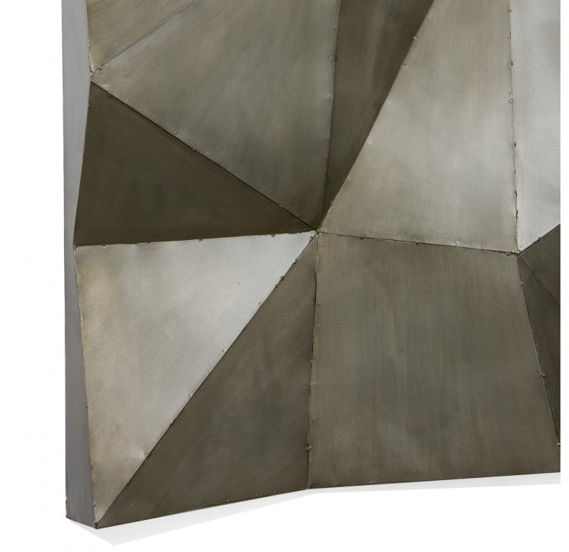 Faceted Wall Art by Gold Leaf Design Group