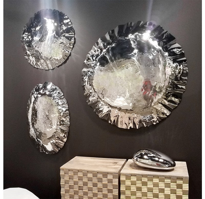 Narciss Round Wall Art by Gold Leaf Design Group