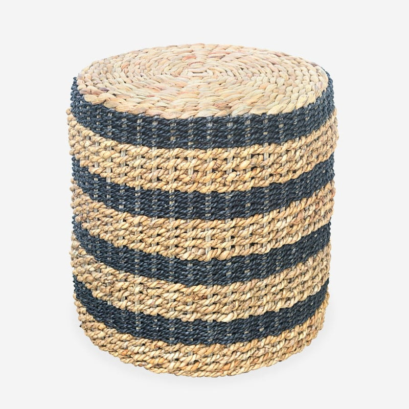 Garis Seagrass-Waterhyacinth Stool by Jeffan