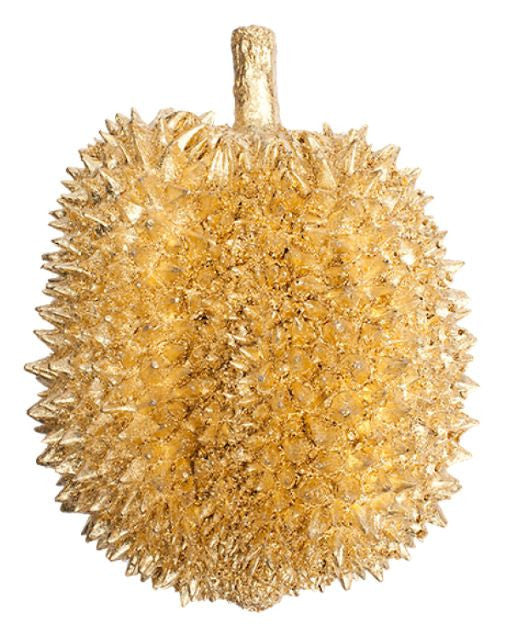 Gold Leaf Design Group Gilded Resin Durian Fruit