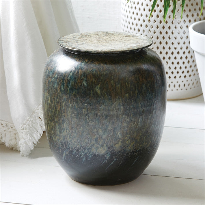 Tozai Home Tiger Prawn Round Design Pot Porcelain