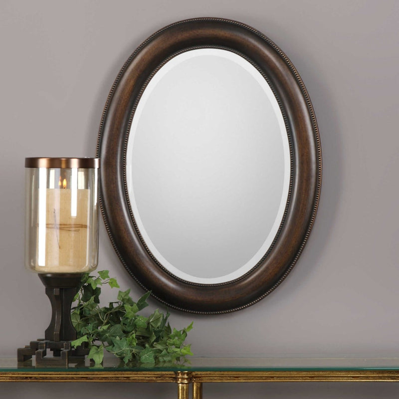 Dark Bronze with Antique Gold Mirrors by Modish Store