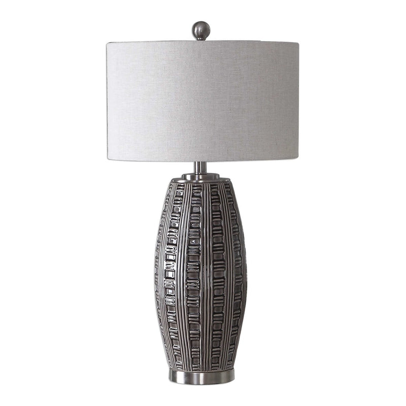 Gray Glaze Ceramic Table Lamps by Modish Store