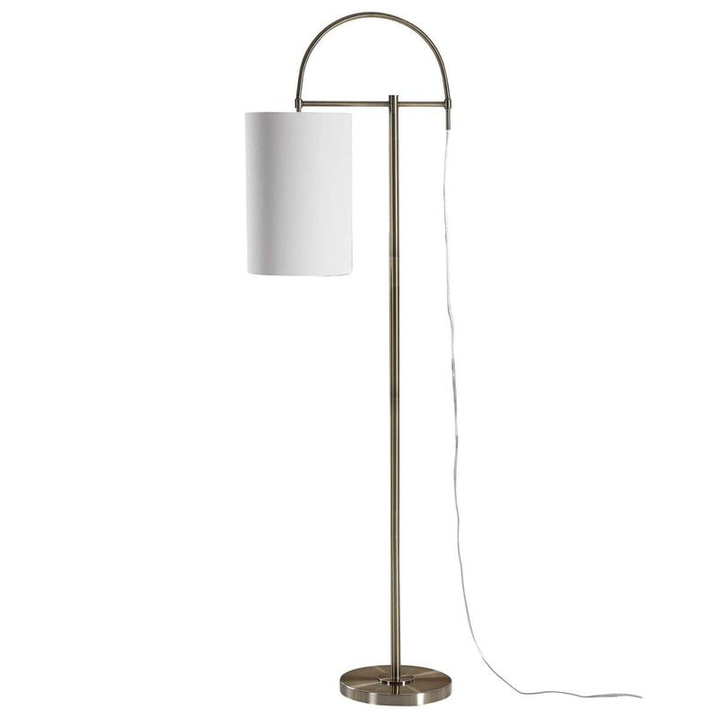 Antique Brushed Brass Floor Lamps By Modish Store