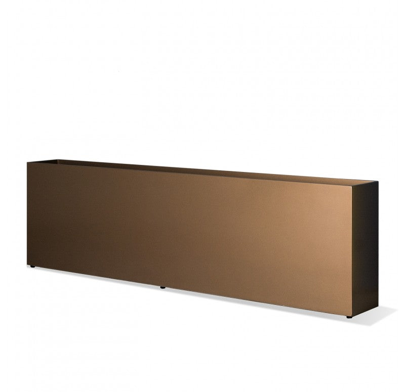 Linear Planter, Bronze Black by Gold Leaf Design Group