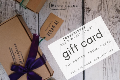 [Green]ster Gift Card ($10-100)