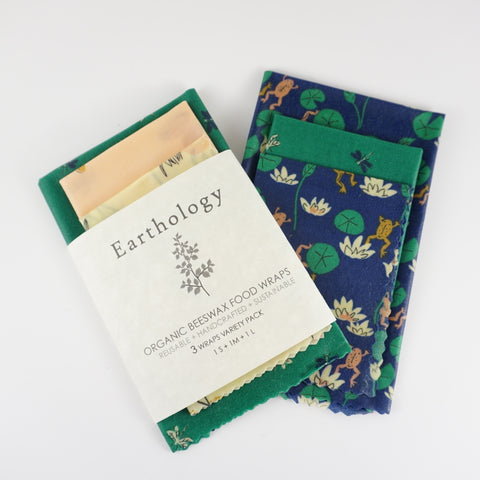Organic Beeswax Food Wraps (3 Pack)