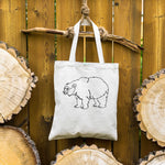 Bear ⋆ Organic Cotton Tote Bag