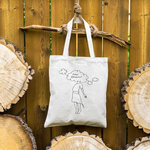 Keep dreamin' ⋆ Organic Cotton Tote Bag