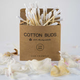100% Biodegradable Bamboo Cotton Swabs
