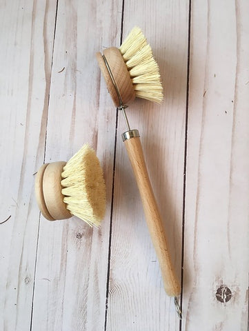 Tampico Fibre Brush & Replacement Head