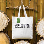 Antisocial Social Club ⋆ Organic Cotton Tote Bag
