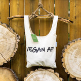 Vegan AF ⋆ Organic Cotton Tote Bag
