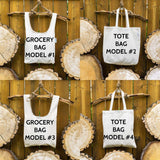 Reduce Reuse ⋆ Organic Cotton Tote Bag