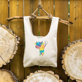 Farting Cow ⋆ Organic Cotton Tote Bag