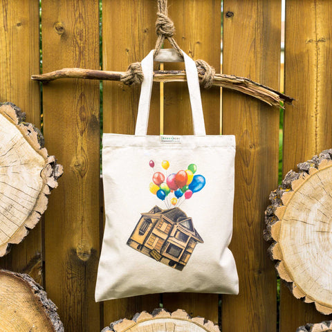 Calgary Enoch House ⋆ Organic Cotton Tote Bag